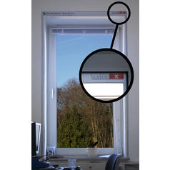 Computerfenster Wandaufkleber