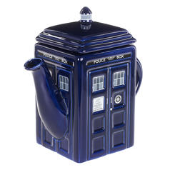 Doctor Who TARDIS-Teekanne