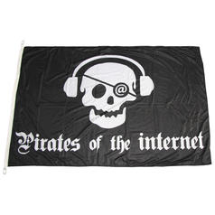Flagge Pirates of the internet