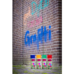 Graffiti Kreide-Spray