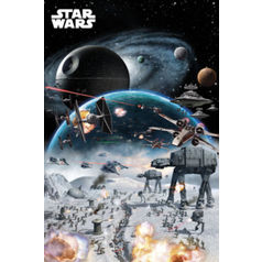 Star Wars Poster: Battle