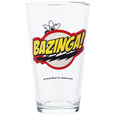 The Big Bang Theory Bazinga Glas