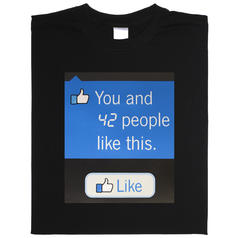 Animiertes Facebook Shirt