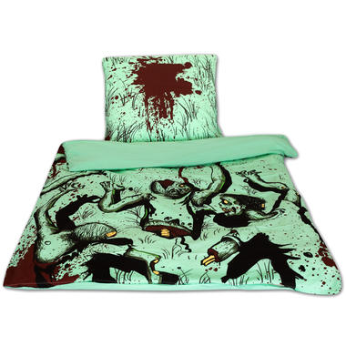 zombie bettw sche getdigital. Black Bedroom Furniture Sets. Home Design Ideas