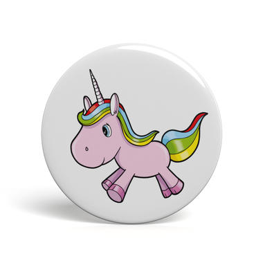 Geek Button Einhorn