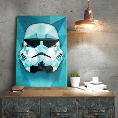 Star Wars Stormtrooper Metallposter | getDigital
