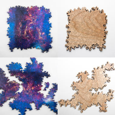 Infinity Puzzle - Holz-Puzzle ohne Grenzen
