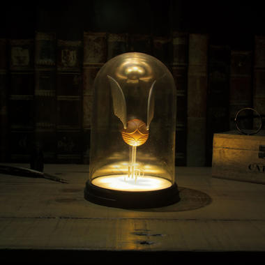 Harry Potter Lampe Goldener Schnatz