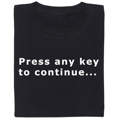 press any key to continue