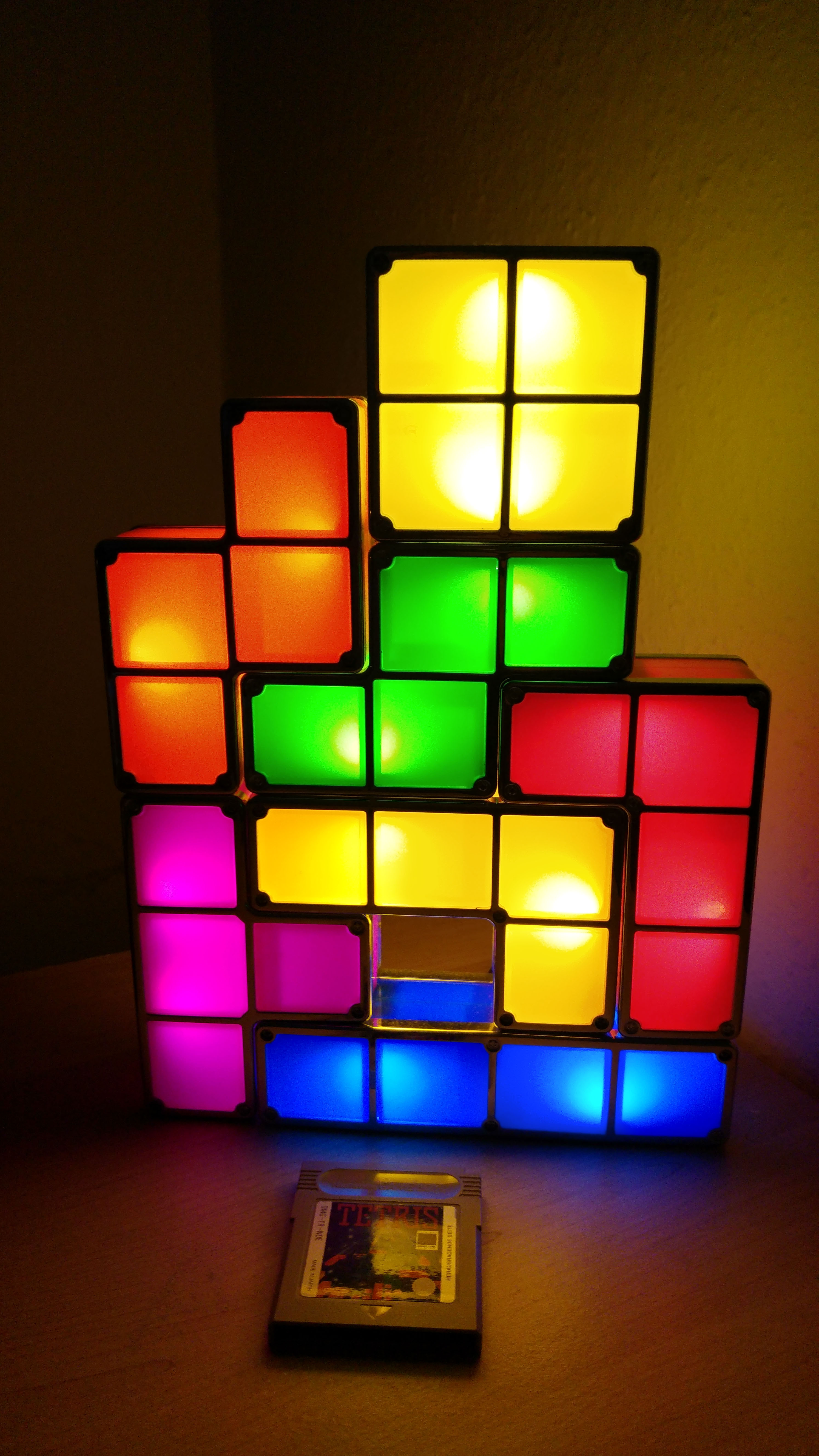 tetris lampe getdigital. Black Bedroom Furniture Sets. Home Design Ideas